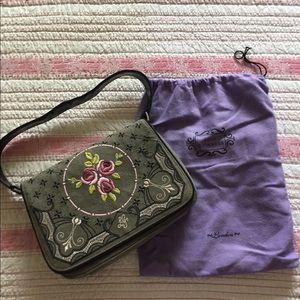 Lovely Lulu Guinness Embroidered Bag